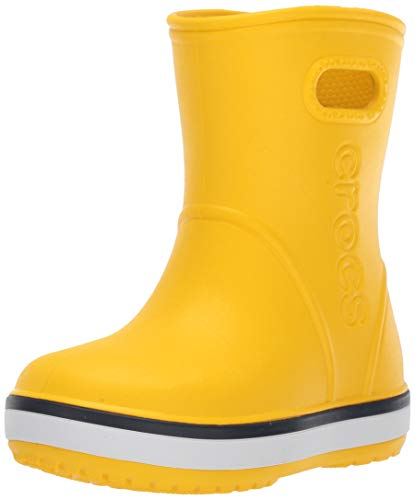 Crocs Unisex Crocband Rain Boot Kids Wellington