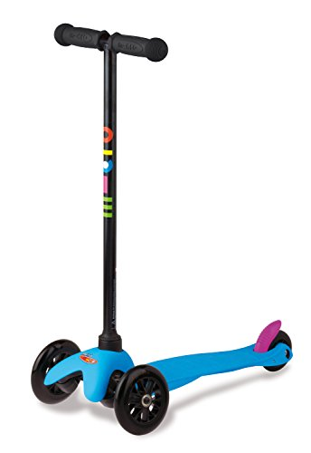 Kinderroller Mini Micro Sporty Scooter in neon blau