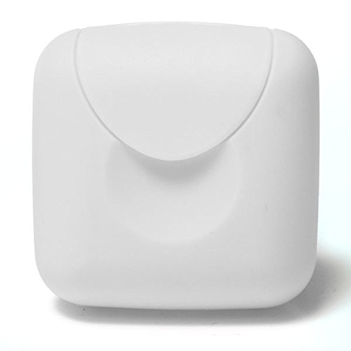 Inovey Outdoor Travel Portable Mini Soap Box Camping Hiking Shower Clean Lock Soap Container -White