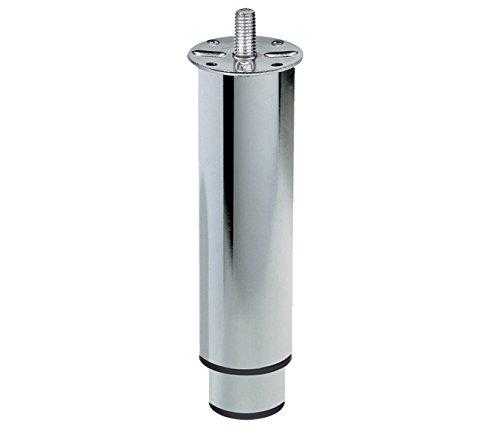Home System 67438150 Teleskop-Möbelfuß, ausziehbar, Metall, 150mm Höhe, 230mm