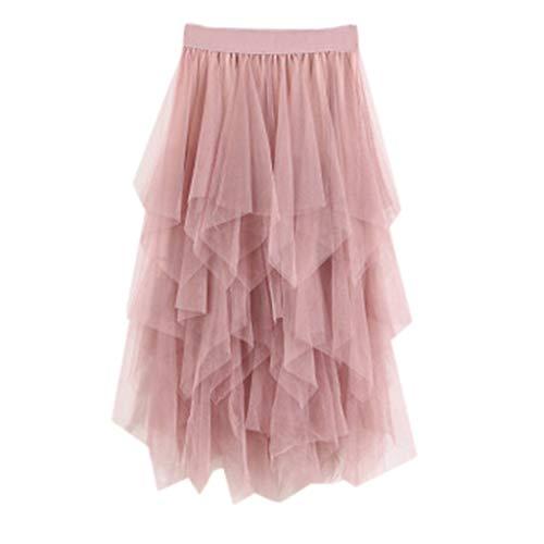 ACEBABY Falda Malla Costura Falda Plisada Estampada