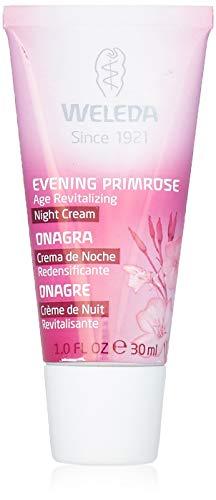 WELEDA Nachtkerze Festigende Nachtpflege, vitaminreiche Pflegecreme für reife Haut im Gesicht, Gesichtscreme glättet, revitalisiert und verleiht Spannkraft (1 x 30 ml)