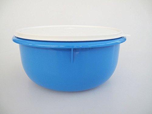 TUPPERWARE Rührschüssel PENG 3,0L Blau Hefeteig B11 Hefe Teig Schüssel Germteig