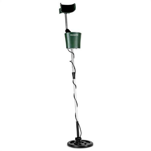 DURAMAXX Tikal Pro • Metalldetektor • Metallsuchgerät • wasserdichte Suchspule • 20 cm Durchmesser • 3 m Suchtiefe • akustisches und visuelles Fundsignal • Kopfhörer-Anschluss • schwarz