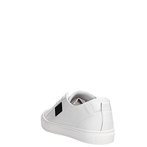 Antony Morato Mmfw00738-le300001, Sneaker a Collo Basso Uomo White
