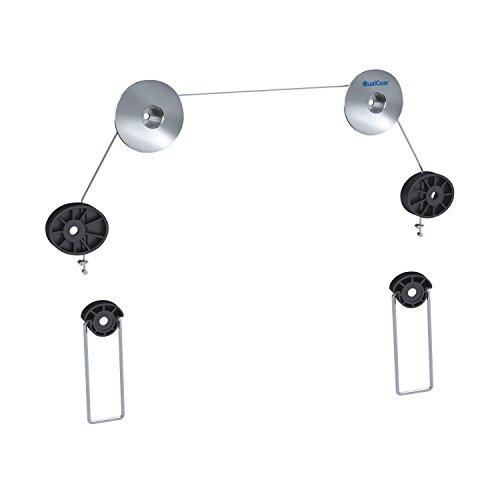 Qualgear Universal Ultradünne Wandhalterung für LED TV bis zu 32-55 Zoll, Schwarz (Tv Wall Mount Kit)