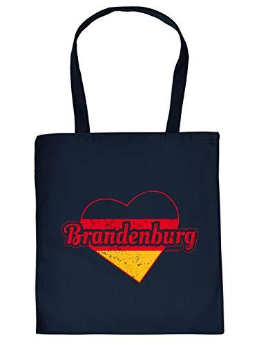 Einkaufstasche mit Aufdruck für Heimatverbundene - Brandenburg - Lustiges Geschenk zu jedem Anlass