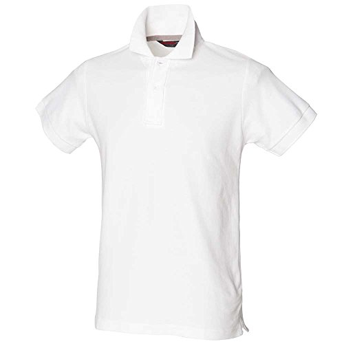 Skinnifit Club Polo Shirts White