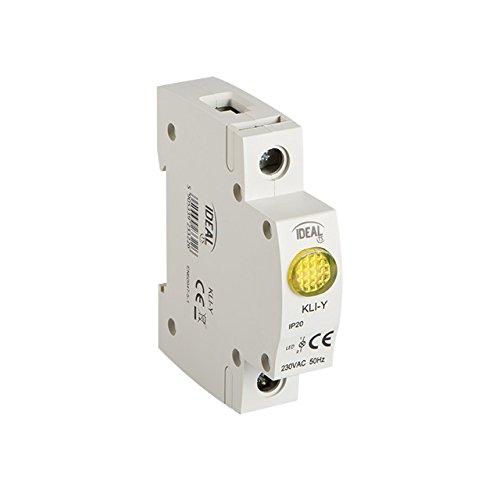 Kontroll Lampe LED gelb YELLOW Phasenprüfer Phasenkontrollleuchte Kontrolllampe 13mA, IP20, SMD LEDs, Kanlux SL-Y YELLOW (Ideal 23322) Konformität : Normen EN60947-1 / EN60947-5-1
