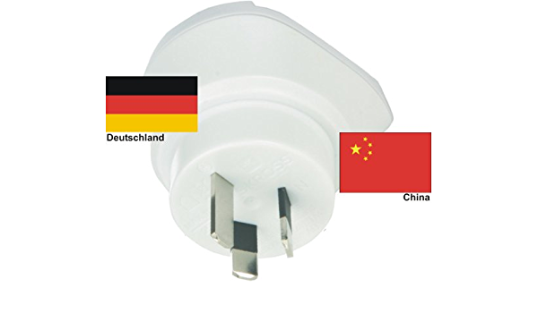 Travel Adapter China To Germany German For 220 Volt Plug Ac Adapter Travel Plug Germany China Garten