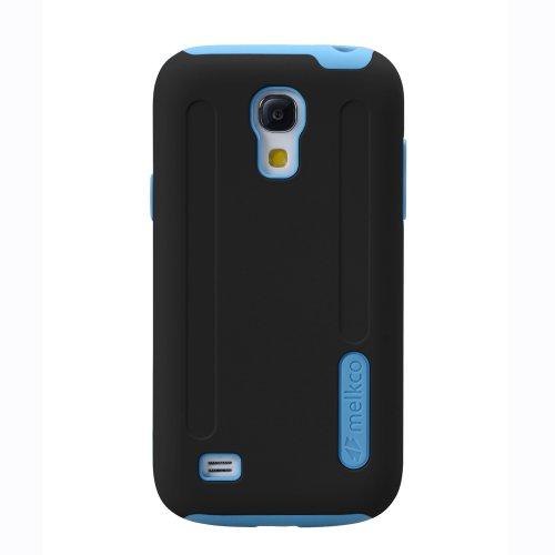 Melkco SSGN91PSKU1BKDB Kubalt Type Double Layer Case für Samsung Galaxy S4 Mini GT-I9190/S4 Mini Duos GT-I9192/S4 Mini LTE GT-I9195 schwarz/dunkelblau