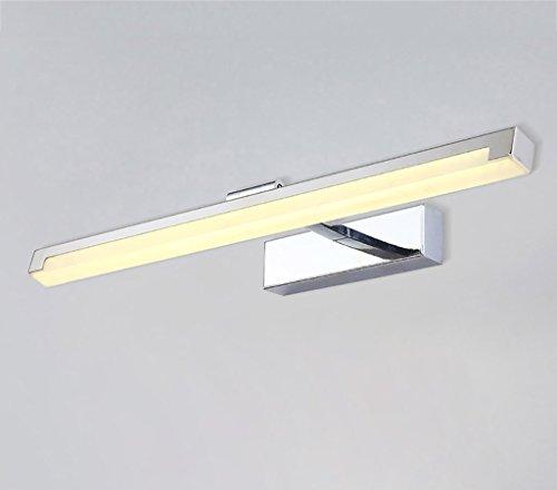 Bath Mirror Lamps Spiegellicht moderne minimalistische LED wasserdichte Nebel Badezimmer Badezimmer Spiegel Lampe Toilette IKEA Make-up Lampe Spiegelfrontlicht (größe : 16W39cm)
