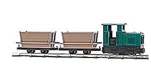 Busch-Jaeger - Vía para modelismo ferroviario (H0F BU FELDBAHN-STARTSET MIT TORFLOREN BUE12001)