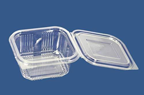 Az pack az confezione 70pezzi 375ml new cookies biscuit cracker insalatiera box coperchi in plastica usa e getta da asporto fast food storage