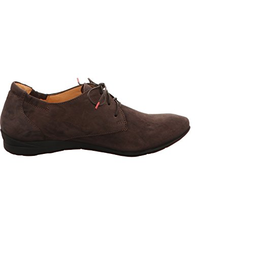 Think by Marko Schuhvertrieb  1-81917-41, Chaussures de ville à lacets pour femme Marron
