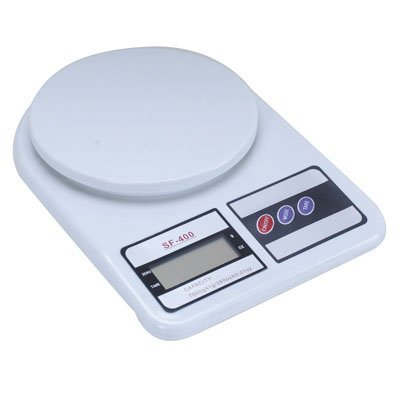 Inspire Cloud Electronic Kitchen Digital Weighing Scale 10 Kg Weight Measure,White