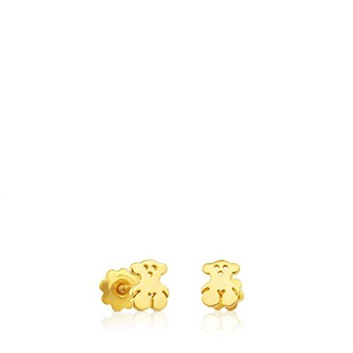 TOUS Pendientes Bear niña baby oro amarillo 18kt