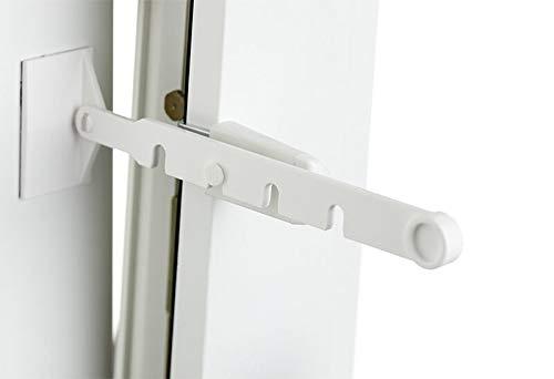 La-Melle. print your style. Fensterschutz für Katzen | Lüften mit kleinem Spalt | 4 Stufen | ohne...