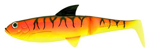 Künstliche Pike Shad 7,5(nur Korpus) ROSSO - GIALLO