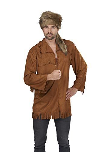 Erwachsenen Kostüm Hirten Für - Kostüm Trapper-Hemd