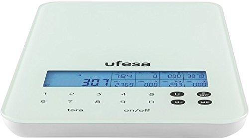 Ufesa BC1600 - Báscula de cocina