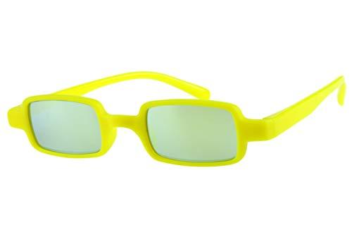 Lesebrillen mit Sonnenschutz getönt verspiegelt Damen Herren gelb leicht eckig Kunststoff Dioprien 1.5 2.0 2.5 3.0, Dioptrien:Dioptrien 1.5