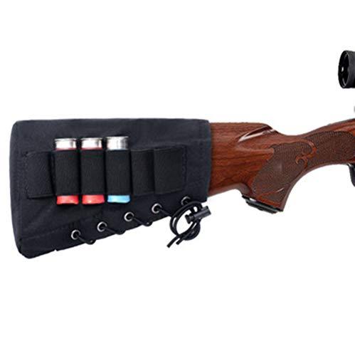 Gexgune Taktische Tasche Gesäßbacke mit 6 Schüssen 12 20 Gauge Schrotflinte Muschelhalter Jagdbandier (20-gauge Schrotflinte Zubehör)