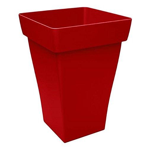 ROMEO PLUS Bac haut carré 39/55cm - Contenance 48l - Rouge