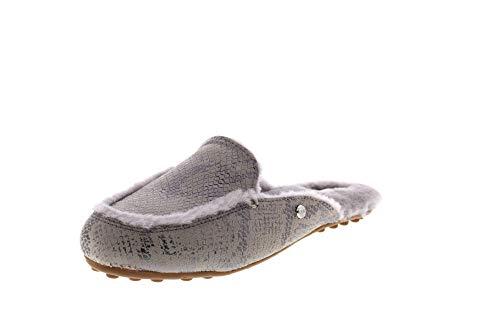 UGG Damenschuhe - Pantoletten Lane 1101014 Snake Silver, Größe:41 EU