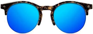 D. Franklin America, Gafas de Sol Unisex, Azul, 50