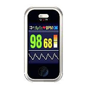 Finger Pulse Oximeter OLED USB w/ Heart rate monitor, Perfusion Index,  Internal Memory & Analysis Software Suite