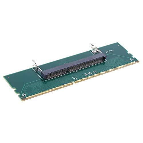 Grüner DDR3-Laptop-SO-DIMM zu Desktop-DIMM-Speicher RAM-Anschluss Adapterkarte Nützliches Zubehör für Computer-Komponenten