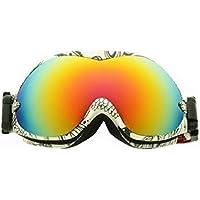 3cd3c4681a PFSYR OTG Ski Goggles - Over Glasses Gafas de esquí/Snowboard para Hombres,  Mujeres