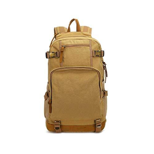 Xbtmy backpack- zaino grande espandibile militare dello zaino di corsa tattico zaino trekking impermeabile for gli uomini (color : khaki)