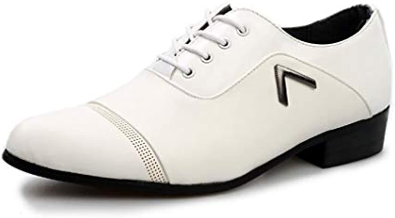 Zapatos Ocasionales de los Hombres, Zapatos Acentuados del Negocio, Zapatos Formales para Hombre de la caída de...