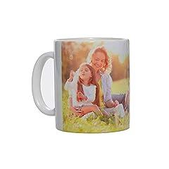 Idea Regalo - Stampa la Tua Foto su Tazza Personalizzata, Modello Mug in Ceramica per Uso Regalo, Alimentare e arredo (Ceramica, 300 ml)