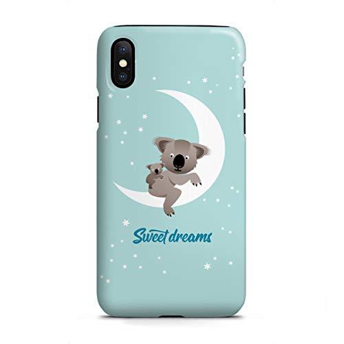 artboxONE Apple iPhone X Tough-Case Handyhülle Sweet Dreams ? Koalas von PIA Kolle
