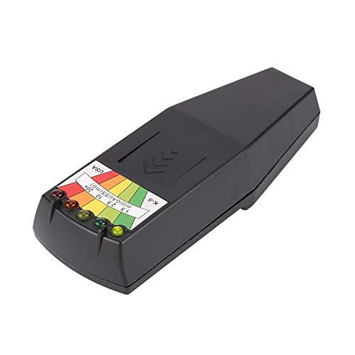 CHOULI Hot Elektromagnetischer Strahlungsdetektor LCD General EMF Meter Dosimeter Tester schwarz -