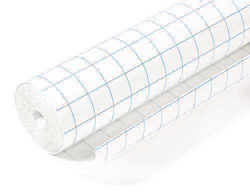 HERMA 7010 Buchschutzfolie selbstklebend (10 m x 40 cm, transparent glänzend) reiß- und wasserfest, aus umweltfreundlicher Polypropylen-Folie für dauerhaftes Einbinden, 1 Rolle -