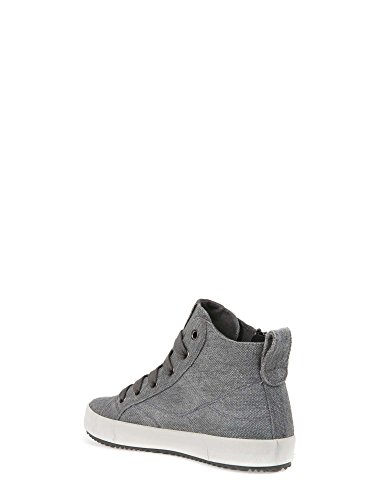 Geox J Alomisso, Sneaker Bambino Alta Grigio