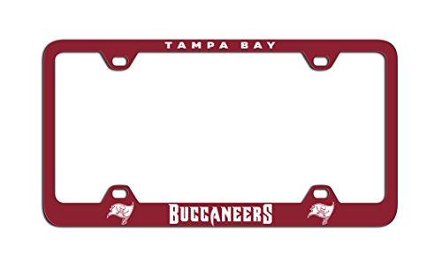 Fremont Die NFL Tampa Bay Buccaneers Laser Nummernschild Rahmen, One Size, Team Farbe