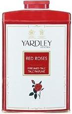 Yardley London Red Roses Perfume Talc, 200g
