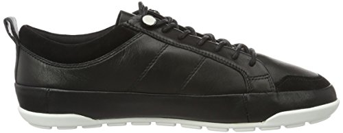 Aldo Bissone, Scarpe da Ginnastica Alte Donna Nero (Black Leather/97)