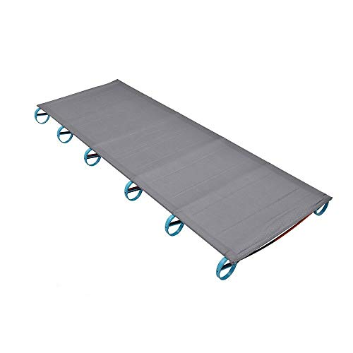 ZAQXSW Ultraleichtes Campingbett aus Aluminium Klappbett Tragbares einfaches Einzelbett für den Außenbereich