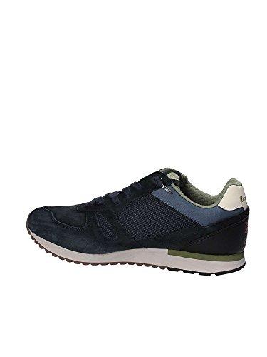 Lotto Tokyo Shibuya Sneakers scamosciate Uomo Tessuto Pelle Navy Blu T0841 Inver Marine