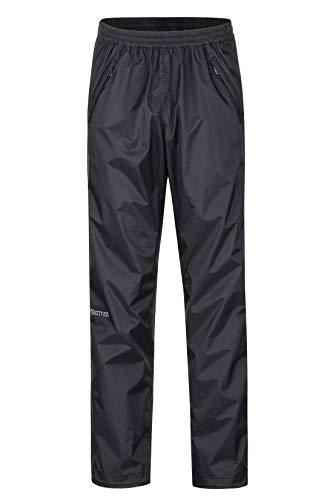 Marmot Herren PreCip Full Zip Pant Hardshell Regenhose, Winddicht, Wasserdicht, Atmungsaktiv, Black, L