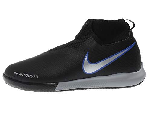 af4ddc96bd406 Nike Jr Phantom Vsn Academy Df Ic - black metallic silver-racer bl