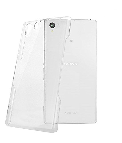 OFM Transparent Soft Back Case Cover for Sony Xperia Z1- L39H/C6902/ C6903/ C6906 - D3247 - Transparent  available at amazon for Rs.129