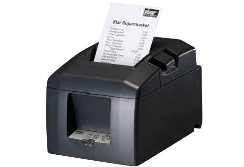 STAR TSP-654 Desktop Drucker mit Ethernet LAN-Schnittstelle Thermodirekt auf 80mm Rolle Apple-MFi-zertifiziert
