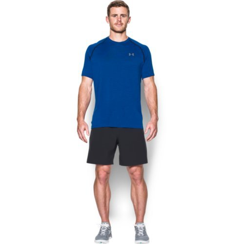 Under Armour Herren Fitness T-Shirt UA Tech Tee Royal